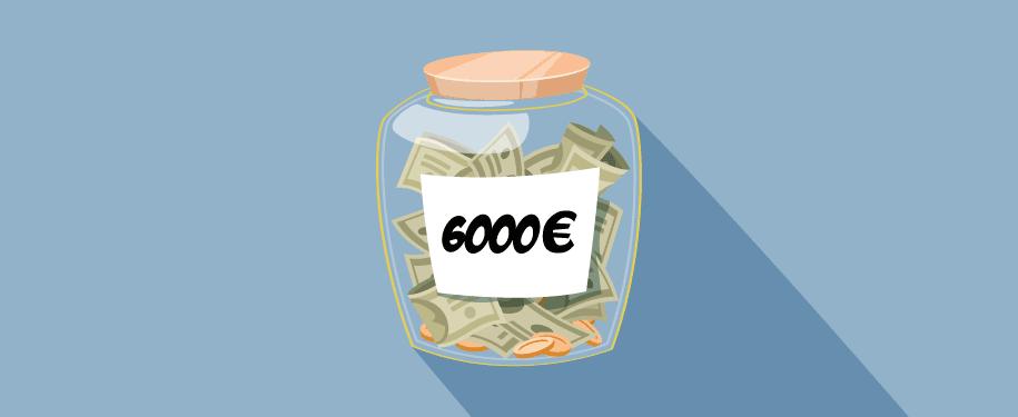6000 In Euros