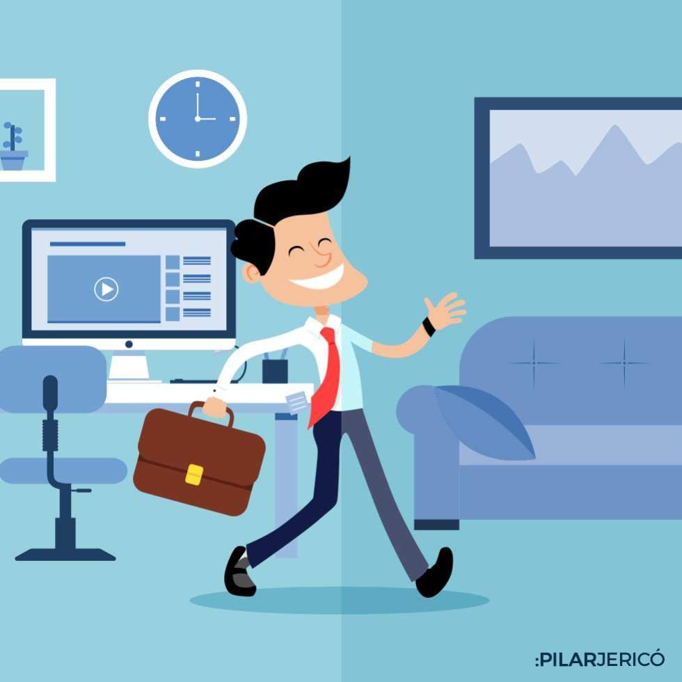 5 maneras de tener el trabajo hecho, sin trabajar