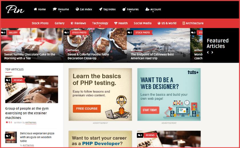 Los 11 mejores temas gratis y premium de WordPress estilo Pinterest ...
