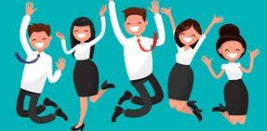 Los empleados satisfechos aseguran que los puestos en una empresa ya cubiertos, brinden un 100% de efectividad.