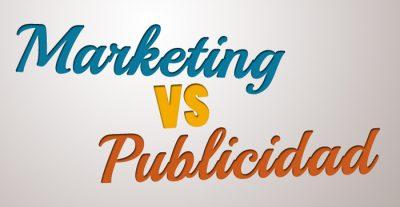 marketing vs publicidad