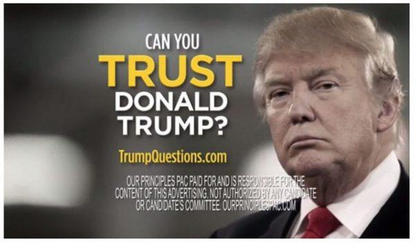 ejemplo de anuncio publicitario político