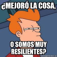 meme sobre resiliencia