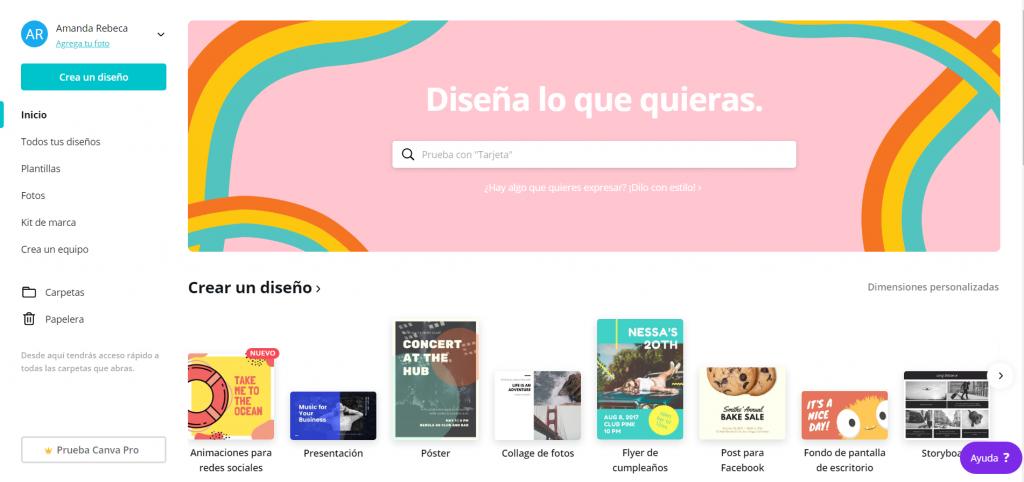 herramientas gratis de diseño