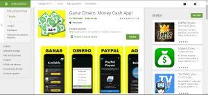 Aplicación de dinero en efectivo